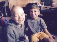 Ethan and buddy Aidan