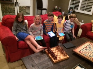 cousins and ipad