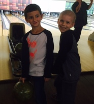 bowling with quinn, feb2015