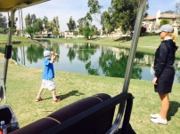 Mar10 2015, golf lesson
