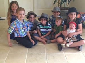 Cousins at Passover!