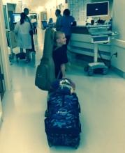 070715, leaving hospital