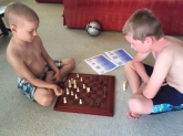teaching oskar chess, may2015