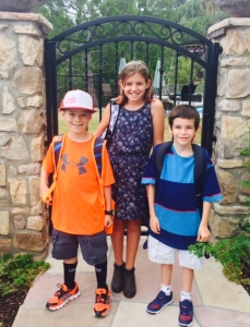 first day of school, sept1 2015