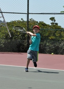 san diego vacation, tennis, aug2015