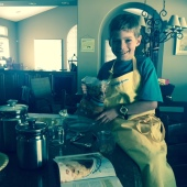 ethan baking apple pie, jack witherspoon recipe