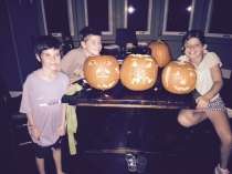 pumpkin carving, oct2015